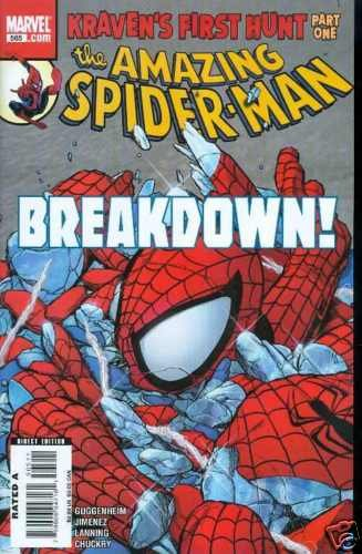 AMAZING SPIDERMAN SPIDER-MAN #565 near mint comic (2008)