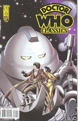 DOCTOR WHO CLASSICS #9 near mint comic IDW (2008)