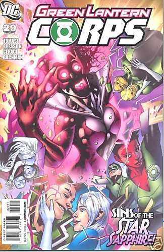 GREEN LANTERN CORPS #29 near mint comic (2009)