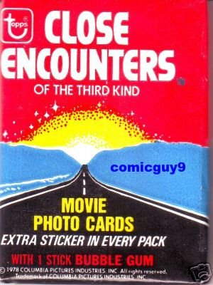 1978 TOPPS CLOSE ENCOUNTERS OF THE THIRD KIND PACK