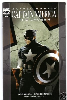 CAPTAIN AMERICA THE CHOSEN #1 variant cover near mint comic