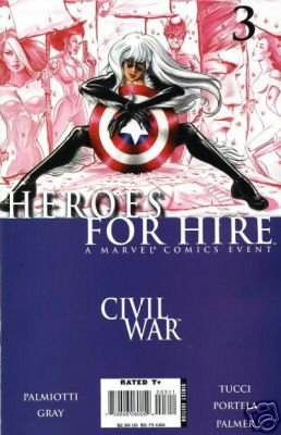 Heroes For Hire #3 CIVIL WAR CROSSOVER near mint comics