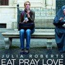 EAT PRAY LOVE (free shipping) ADVANCE MINI MOVIE POSTER JULIA ROBERTS