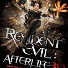 RESIDENT EVIL AFTERLIFE 3D MINI MOVIE POSTER Milla Jovovich (Free Shipping)
