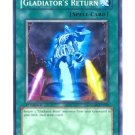 Yugioh GLADIATOR'S RETURN (GLAS-EN059) unlimited edition near mint card Common