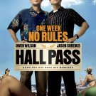 HALL PASS MINI MOVIE POSTER OWEN WILSON JASON SUDEIKIS