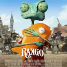 RANGO ADVANCE MINI MOVIE POSTER JOHNNY DEPP free shipping