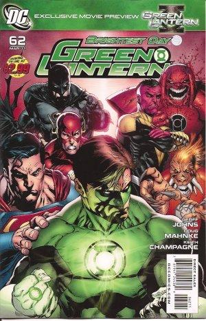 GREEN LANTERN #62 near mint comic (2011)