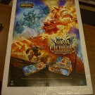 WORLD OF WARCRAFT POSTER WAR OF THE ELEMENTS WORLDBREAKER 24x36 free shipping