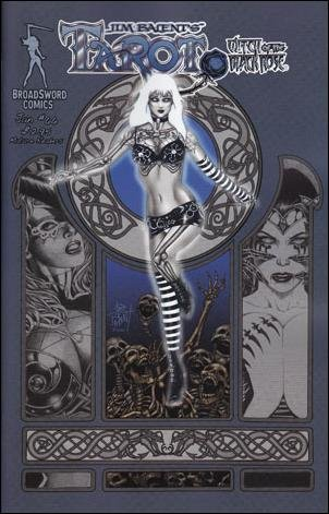 TAROT WITCH OF THE BLACK ROSE #66 (MR) BROADSWORD COMICS near mint comic COVER B