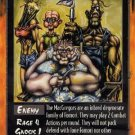 Rage Th' M'Gregors Th M Gregors (Legacy of the Tribes) near mint card