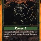Rage Pack Reprimand (The Umbra) near mint card
