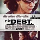 THE DEBT mini Movie Poster FREE SHIPPING Helen Mirren Sam Worthington
