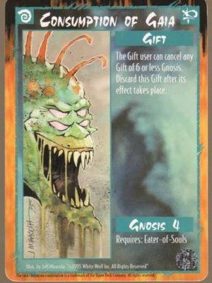 Rage Consumption of Gaia (The Wyrm) near mint card