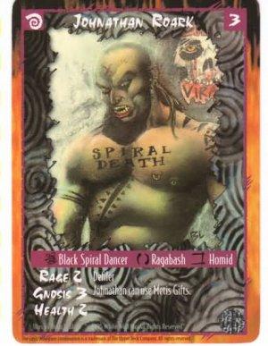 Rage Johnathan Roark (The Wyrm) near mint card