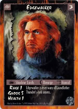 Rage Edgewalker (Limited Edition) near mint card