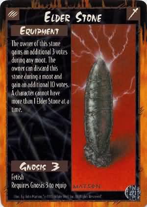 Rage Elder Stone (Limited Edition) near mint card