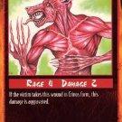Rage Fur Gnarl (Unlimited Edition) near mint card