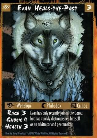 Rage Evan Heals-the-Past (Unlimited Edition) near mint card