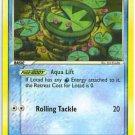 Pokemon Lotad (Crystal Guardians) near mint card #55/100 common