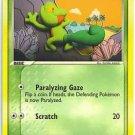 Pokemon Treecko (Crystal Guardians) #67/100 near mint card common