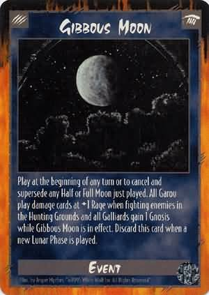Rage Gibbous Moon (Limited Edition) near mint card