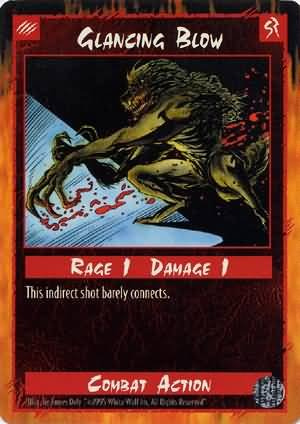 Rage Glancing Blow (Limited Edition) near mint card