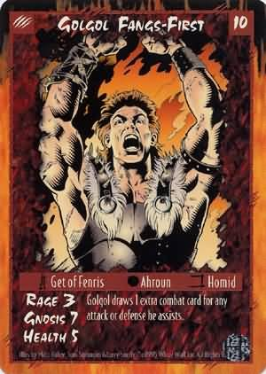 Rage Golgol Fangs-First (Limited Edition) near mint card