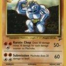 Pokemon Machoke (Base 2) #49/130 uncommon slight play card