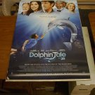 DOLPHIN TALE Movie Poster Double Sided Original 27x40 (2011)