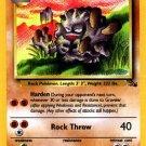 Pokemon Graveler (Fossil) 1st Edition #37/62 near mint card Uncommon
