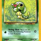 Pokemon Caterpie (Base Set One 1) Unlimited Edition #45/102 near mint card Common