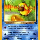Pokemon Psyduck (Fossil) 1st Edition #53/62 near mint card Common
