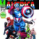 CAPTAIN AMERICA by RON GARNEY POSTER MARVEL COMICS 24 x 36 inches