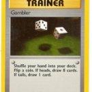 Pokemon Gambler (Fossil) Unlimited Edition #60/62 near mint card Common