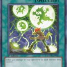 Yugioh Thunder Short GENF-EN049 near mint card Unlimited Edition Common