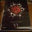 Saw VI (6) movie poster 27 x 39 single-sided (A)