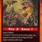 Rage Nerve Cluster (Limited Edition) near mint card
