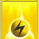 Pokemon Electric Lightning Energy (Base Set One) 100/102  near mint card