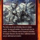 Rage Pack Defense (Limited Edition) near mint card