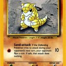 Pokemon Sandshrew (Base Set) 62/102 Unlimited Edition near mint card Common
