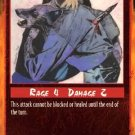 Rage Critical Blow (Unlimited Edition) near mint card