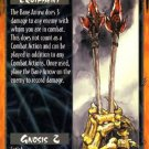Rage Bane Arrow (Unlimited Edition) near mint card