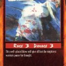 Rage Body Blow (Unlimited Edition) near mint card