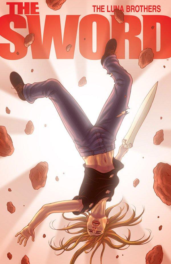 SWORD #18 (2009) THE LUNA BROTHERS near mint comic