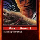 Rage Grazing Wound (Unlimited Edition) near mint card