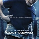 Contraband Advance Mini Movie Poster Mark Wahlberg