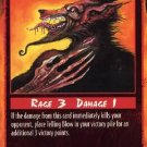 Rage Telling Blow (Unlimited Edition) near mint card