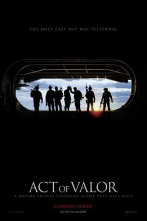 Act of Valor Advance Promotional Mini Movie poster FREE SHIPPING
