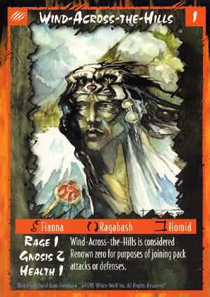 Rage Wind-Across-the-Hills (Unlimited Edition) near mint card